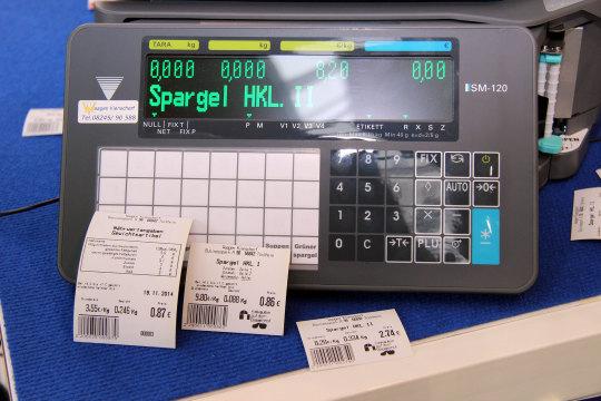 Etikettenwaage SM 120