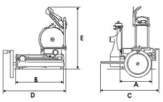 Volano Schwungradmaschine-ähnlich Berkel B 2